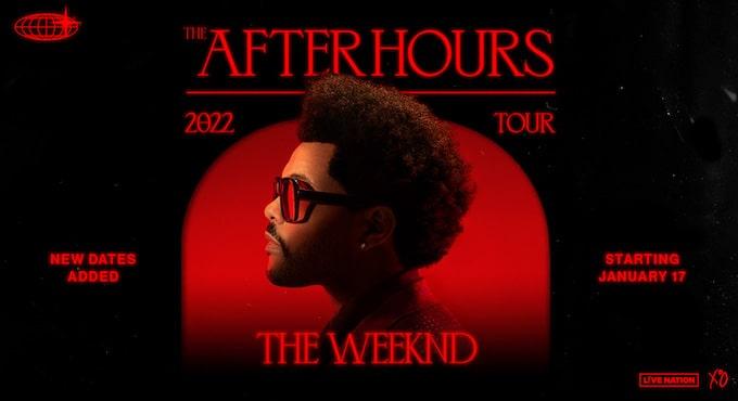 Weeknd-tour setlist